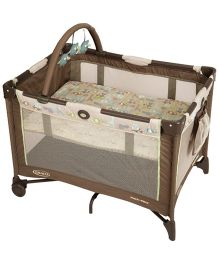 Graco Pack 'n Play On The Go Forest Friends Playpen - Brown