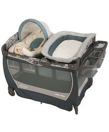 Graco Pack n Play Playard With Cuddle Cove LX Rocking Seat Brompton