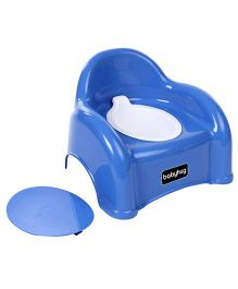 Babyhug  2 in 1 Baby Potty Cum Chair - Blue