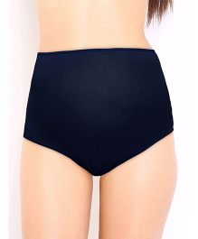 Red Rose Pregnancy Panty - Navy Blue