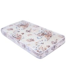 Spring Air Foam Mattress Floral Print - Cream