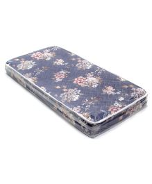 Spring Air Foam Mattress Floral Print - Grey