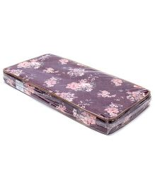 Spring Air Foam Mattress Floral Print - Maroon