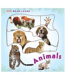 Animals See Read Learn Boardbook - English