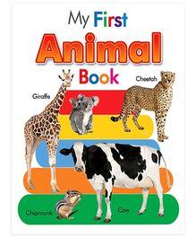 My First Animal Book - English