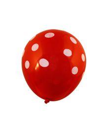 Partymanao Round Polka Dot Balloon Pack Of 25 - Multi Colour