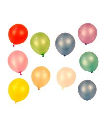Partymanao Fluorescent Balloons Pack Of 100 - Multi Color