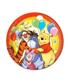 Winnie The Pooh Paper Plates - Pack Of 10