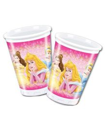 Disney Plastic Cups Princess Print Pack Of 10 - 200 ml