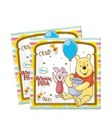 Disney Winnie The Pooh Ply Paper Napkins - Set of 20