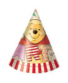 Winnie the Pooh Alphabet Hat - Pack of 6