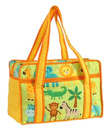 Swayam Digitally Printed Baby Bag Animals - Multicolour