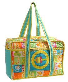 Swayam Digitally Printed Baby Bag - Multicolour