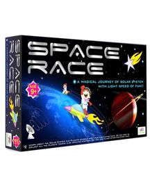 Happy Kidz Space Race Educational Board Game