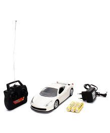 Kumar Toys Remote Controlled Car - White