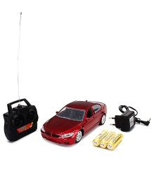 Kumar Toys Remote Controlled Car With Charger - Maroon