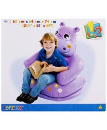 Intex - Happy Animal Chair - Hippo