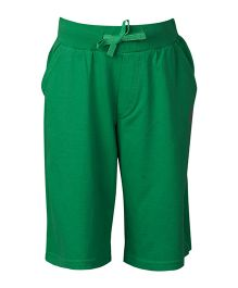 United Colors of Benetton Bermuda Shorts Benetton Print - Green