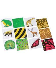 Clever Cubes - Jungle Zoom Puzzle