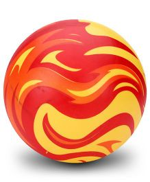 Boing Fire Print Beach Ball - Red