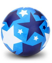 Boing Star Print Beach Ball - Blue