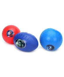 Avenger Pack Of 3 Balls - Multi Color