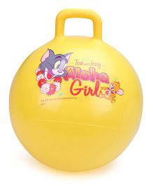 Tom And Jerry Hopper Ball - Yellow