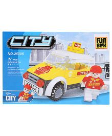 Fun Blox City Blocks Set - 71 Pieces