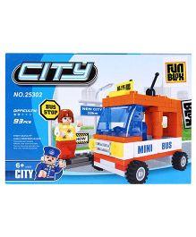 Fun Blox City Blocks - 95 Pieces