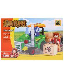 Fun Blox Farm Blocks Set - 126 Pieces
