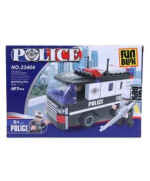 Fun Blox Police Block Set - 127 Pieces