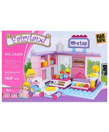 Fun Blox Fairy Land Blocks Set - 152 Pieces