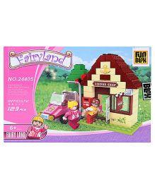 Fun Blox Fairy Land Blocks Set - 123 Pieces