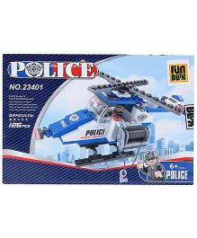 Fun Blox Police Blocks Set - 126 Pieces
