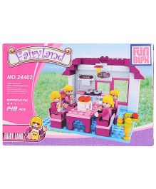 Fun Blox Fairy Land Blocks Set - 148 Pieces