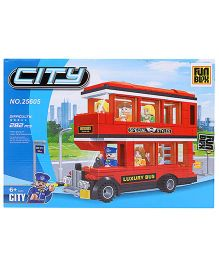Fun Blox City Blocks Set - 282 Pieces