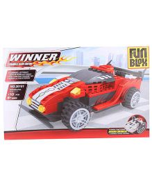 Fun Blox 170 Pieces Remote Controlled Car Block Set 20101