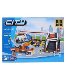 Fun Blox City Blocks Multicolor - 443 Pieces
