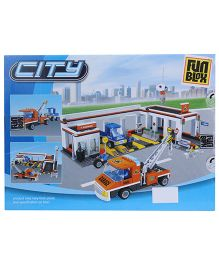 Fun Blox City Block Set - 443 Pieces