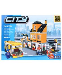 Fun Blox City Blocks - 546 Pieces