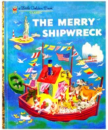 The Merry Shipwreck Little Golden Book Paperback- English