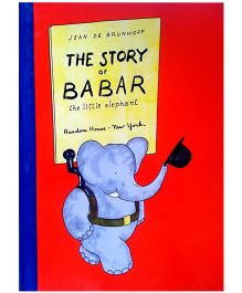 The Story of Babar Paperback Book - English