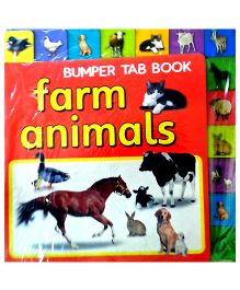 Bumper Tab Book Farm Animals - English