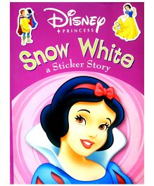 Snow White Sticker Book Disney Sticker Book - English