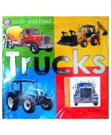 Slide & Find Trucks - English