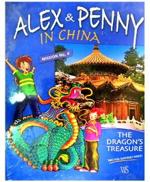 Alex And Penny In China Dragon Mystery Mission No 4 - English