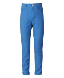 United Colors of Benetton Full Length Pant - Blue
