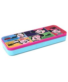 Minnie Mouse Pencil Box - Pink And Blue