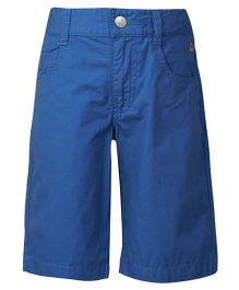 United Colors of Benetton Three Fourth Pants - Navy Blue
