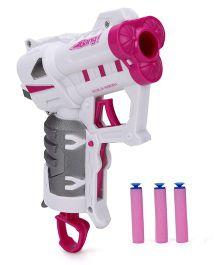 Mitashi Bang Electra Parrot Toy Gun - Pink